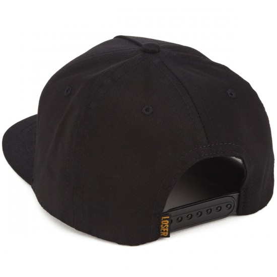 Loser Machine DTF Hat - Black