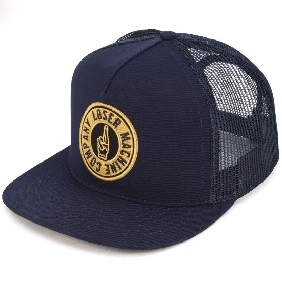 Loser Machine Sui-Trucker Hat - Navy