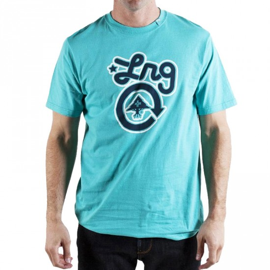 LRG Core Collection One T-Shirt - Coral Blue