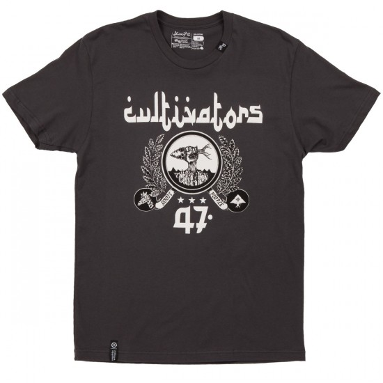 LRG Cultivators 47 Slim Fit T-Shirt - Heavy Metal