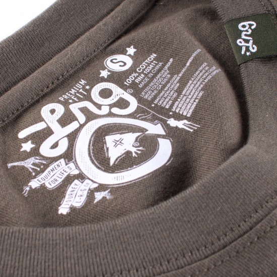 LRG King TShaka Knit Shirt - Olive Drab