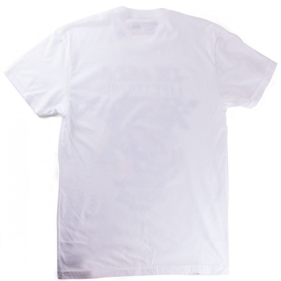 LRG Life Colors Slim Fit T-Shirt - White