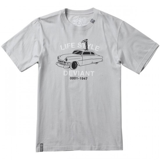 LRG Lifestyle Deviant T-Shirt - Light Grey