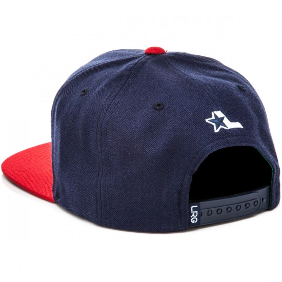 LRG Lifted Snap Back Hat - Navy