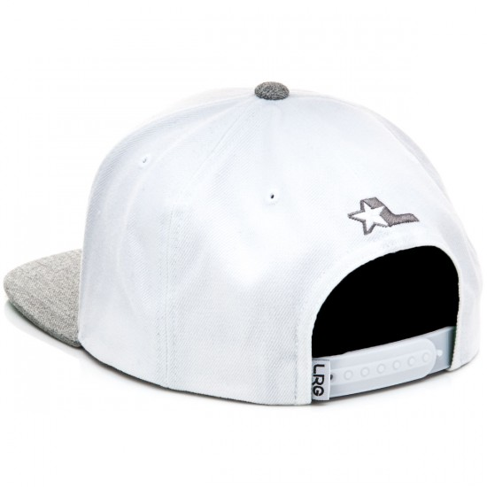 LRG Lifted Snap Back Hat - White
