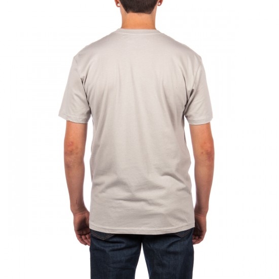 LRG Lifted Vacation Club Slim Fit T-Shirt - Silver