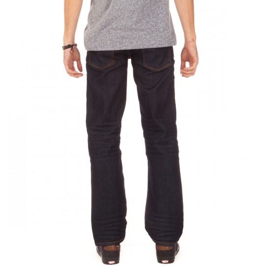 LRG RC True Straight Fit Jeans - Ink Blue - 28 - 32