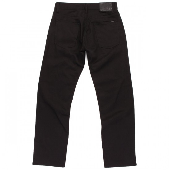 LRG Research Collection True Straight Fit Jeans - Triple Black