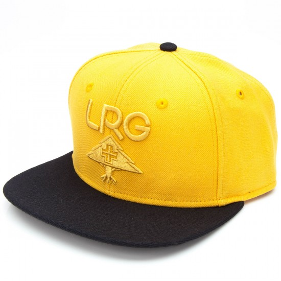 LRG Research Group Snapback Hat - Mustard