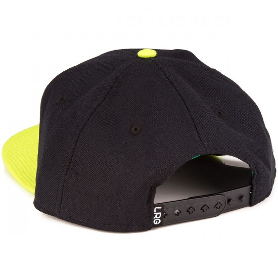 LRG RS Group Snapback Hat - Black
