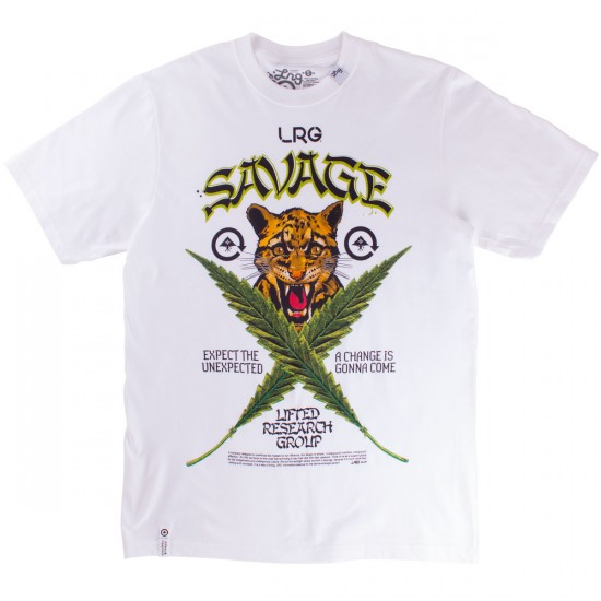 LRG Savage Cats T-Shirt - White