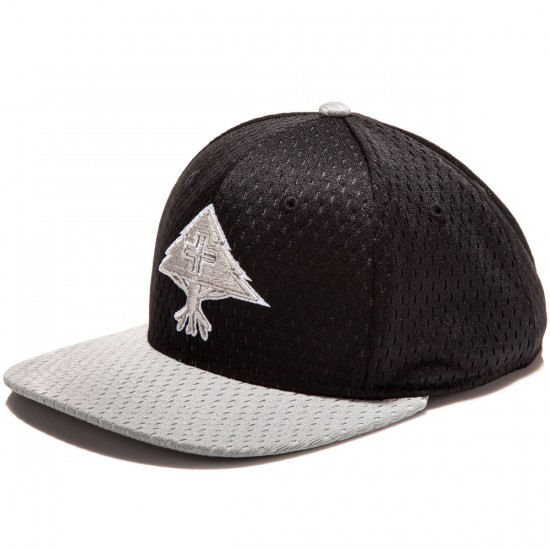 LRG Spring Training Snapback Hat - Black