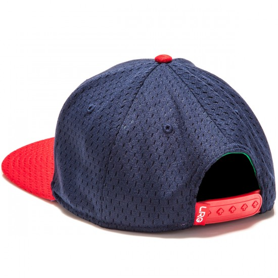 LRG Spring Training Snapback Hat - Navy