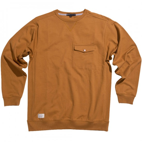 Matix Machine Sweatshirt - Golden Brown