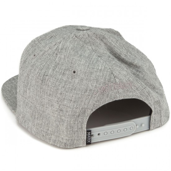 Matix Monoset Stitch Hat - Heather Grey