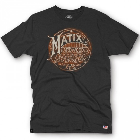 Matix Stringer T-Shirt - Black