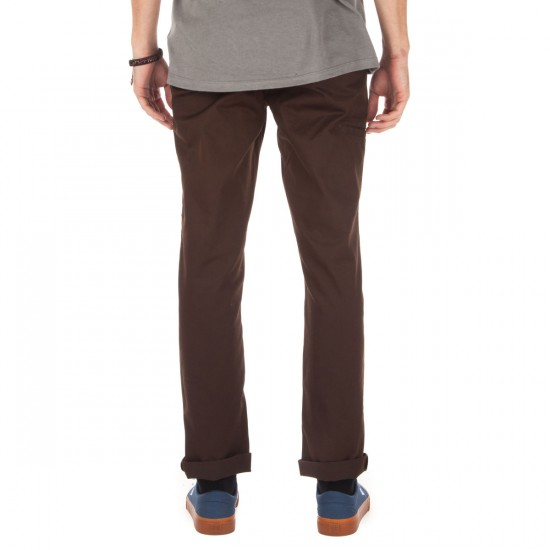 Matix Welder Classic Pants - Chocolate - 34 - 32