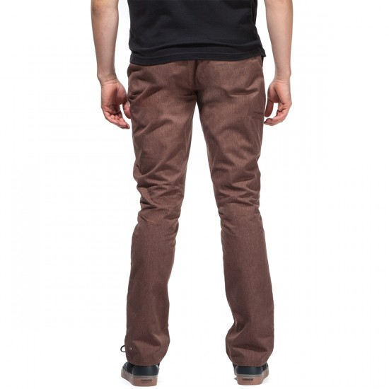 Matix Welder Classic Pants - Heather Brown - 28 - 32