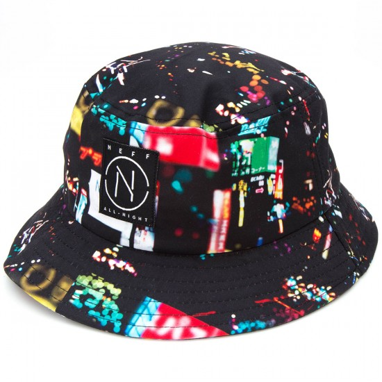 Neff City Lights Bucket Hat - Multi