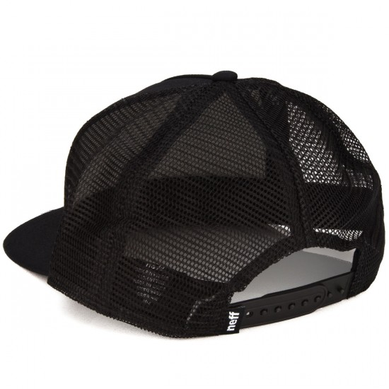 Neff Corpo Trucker Hat - Black