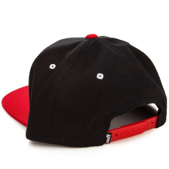 Neff Daily Hat - Black/Red/White