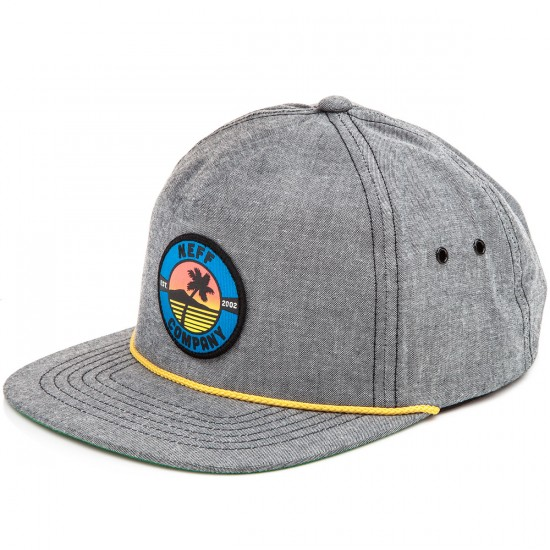Neff Palm Patch Hat - Black
