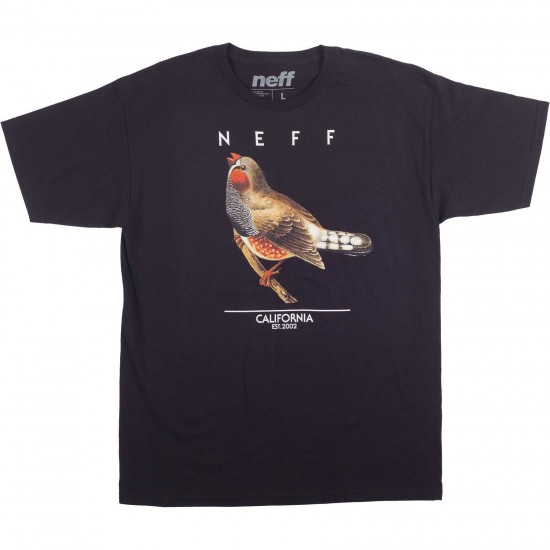 Neff Songbirds T-Shirt - Black