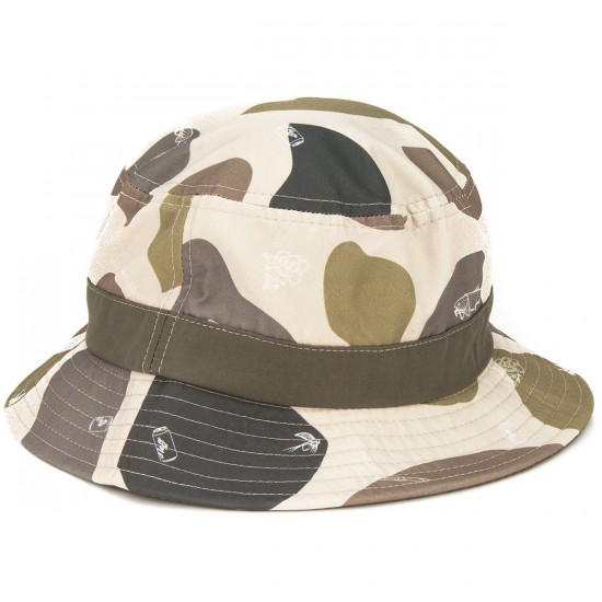 Neff Trouty Bucket Hat - Camo