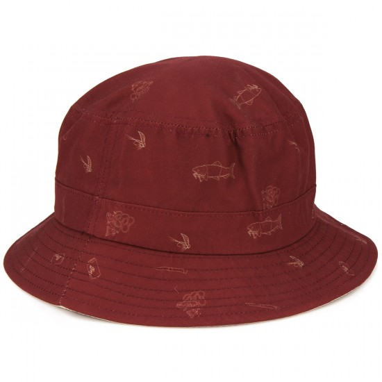 Neff Trouty Bucket Hat - Maroon