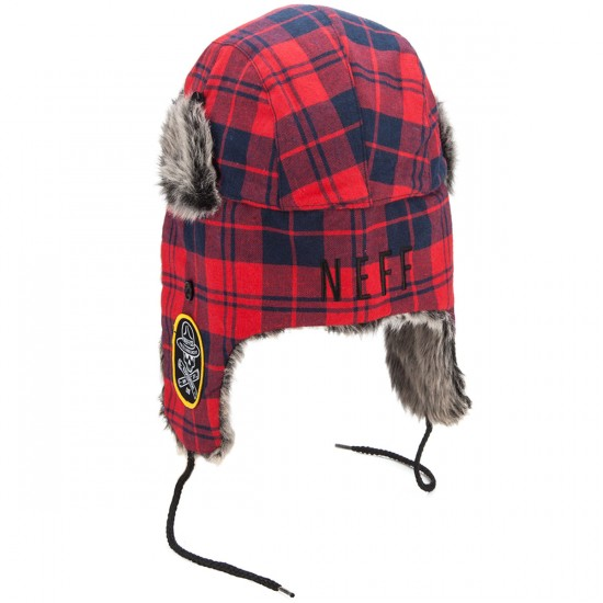 Neff Vlad Trapper Hat - Red