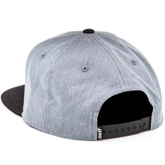 Neff X Cap Hat - Grey/Black