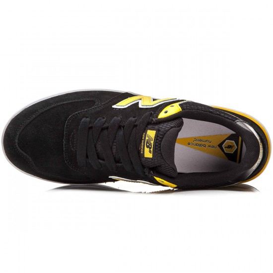 New Balance Logan-S 636 Shoes - Black/Yellow - 10.0