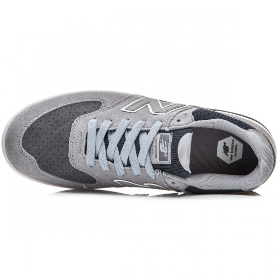 New Balance Logan-S 636 Shoes - Steel - 8.0