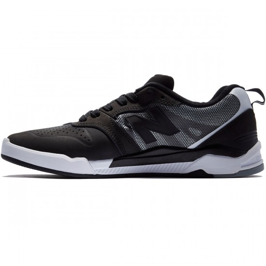New Balance Numeric 868 Shoes - Black/White - 8.5