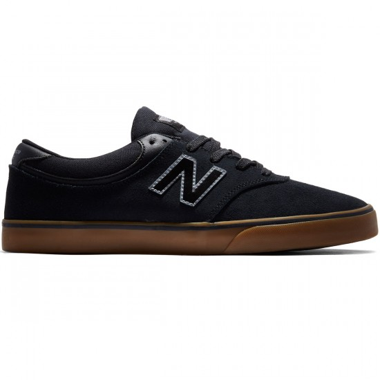 New Balance Quincy 254 Shoes - Black/Gum - 8.0