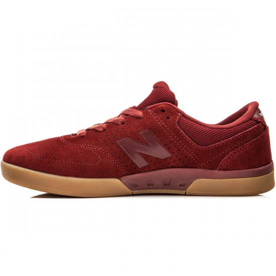 New Balance PJ Stratford 533 Shoes - Rust/Gum - 10.0