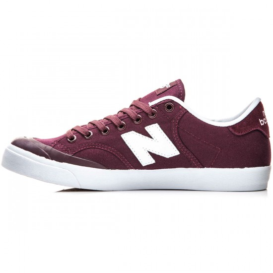 New Balance Pro Court 212 Shoes - Burgundy - 10.0
