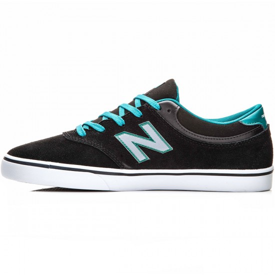 New Balance Quincy 254 Shoes - Black/Jade - 10.0