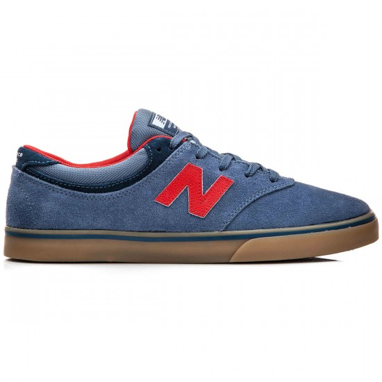 New Balance Quincy 254 Shoes - Blue/Gum - 10.0