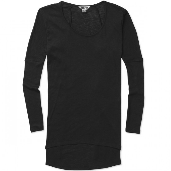 Nikita Hurrah T-Shirt - Jet Black