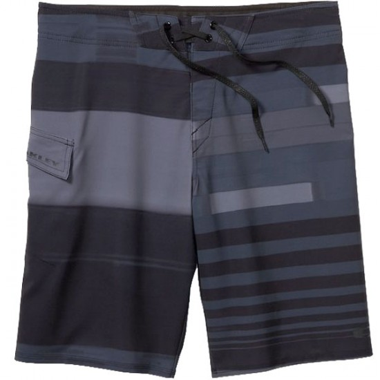 "Oakley Antenna Boardshorts 21"""" - Jet Black"""""