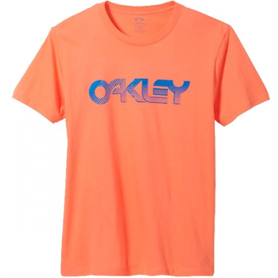 Oakley Current Edition T-Shirt - Coral Glow