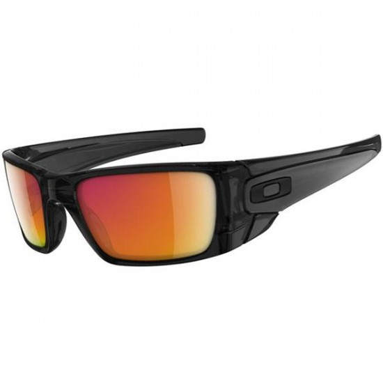 Oakley Fuel Cell Sunglasses - Polished Black Ink/Ruby Iridium