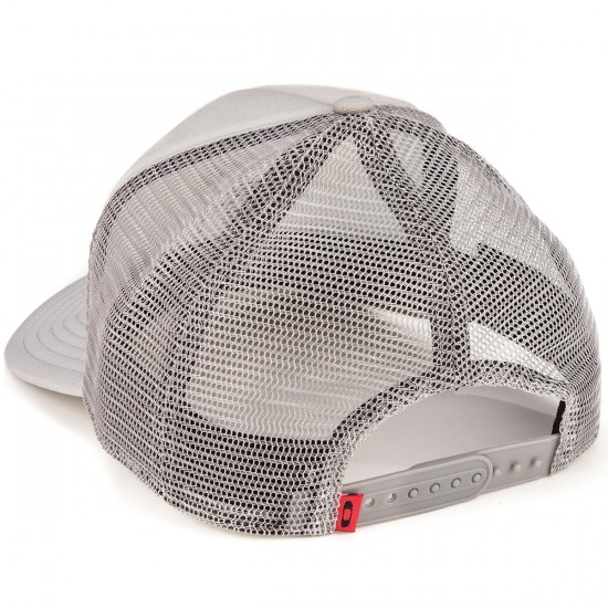 Oakley Graphic Foam Trucker Hat - Stone Grey