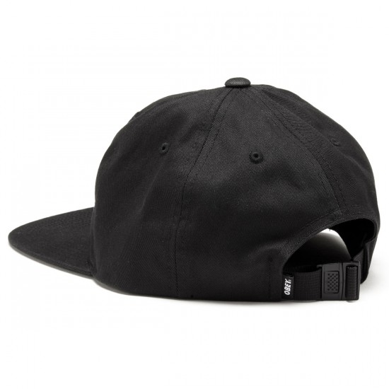 Obey Eighty Nine Hat - Black