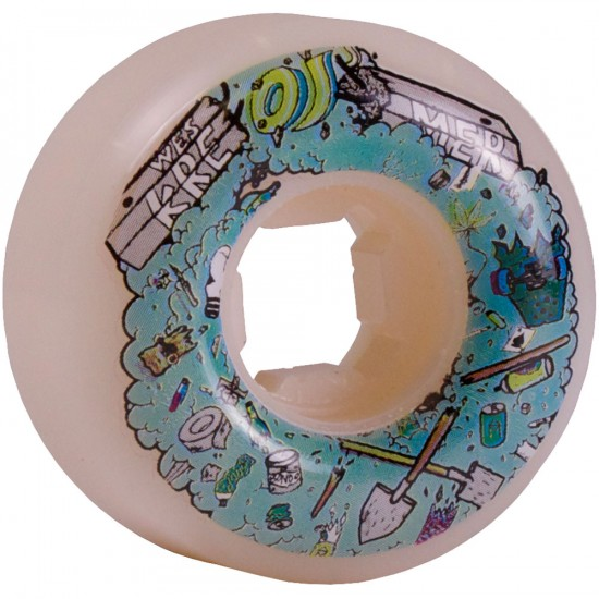 OJ Wes Kremer Hemmy Skateboard Wheels 51mm 101a - White