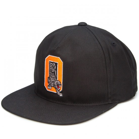 Organika Hunter O Snapback Hat - Black