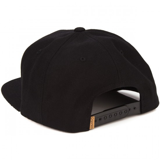Organika Tiger Snapback Hat - Black