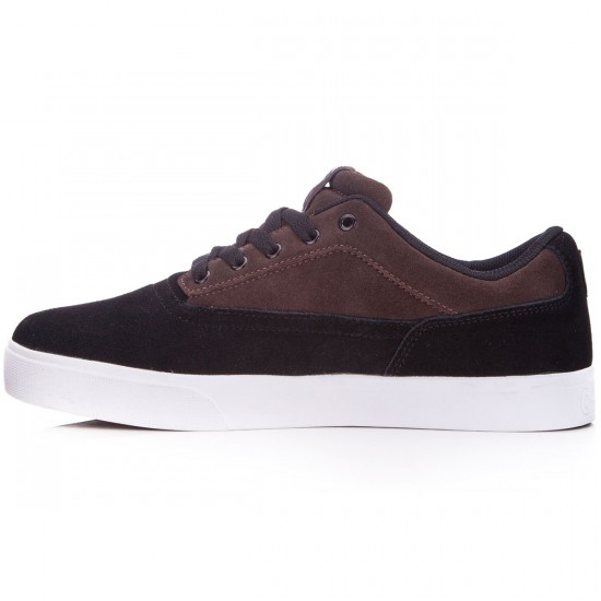 Osiris Caswell Vulc Shoes - Black/Brown/White - 10.0