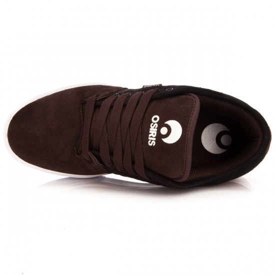Osiris Decay Shoes - Brown/Black/White - 10.0